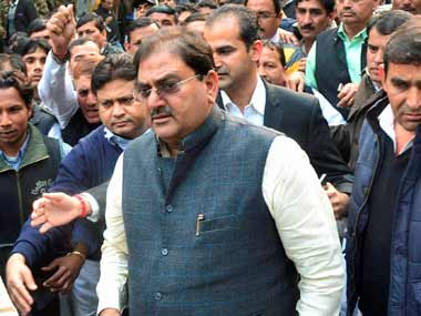 Abhay Chautala is facing trial in disproportionate assets case. PTI