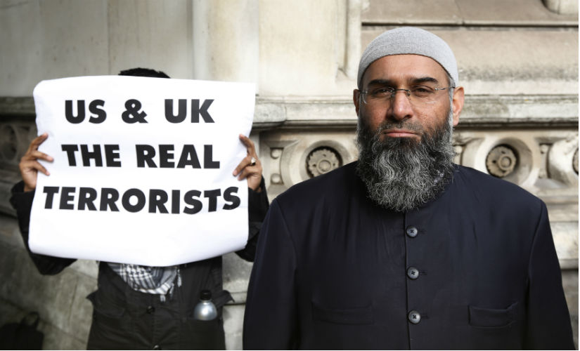 UK-based Islamic preacher Anjem Choudary. Reuters