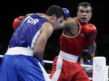 Rio 2016 Flawless Vikas Krishan batters Onder Sipal just one fight away from an Olympic medal