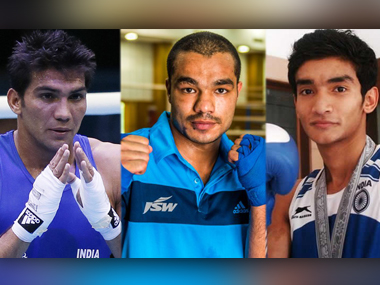 Shiva Thapa (56kg), Manoj Kumar (64kg) and Vikas Krishan (75kg) were the three Indian boxers in Rio.