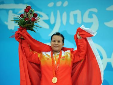 Three Chinese 2008 Olympic champions test positive after IWF reanalyse samples