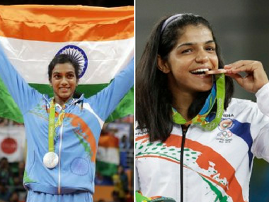 PV Sindhu and Sakshi Malik were India's only medal winners at the Rio Olympics 2016