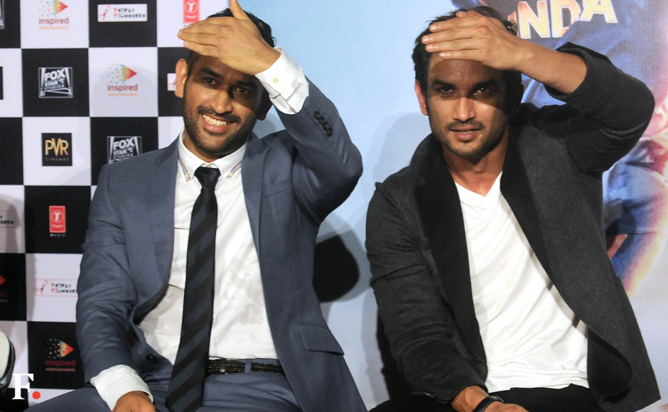 Dhoni Sushant Singh Rajput had a good time at MS Dhoni The Untold Story trailer launch