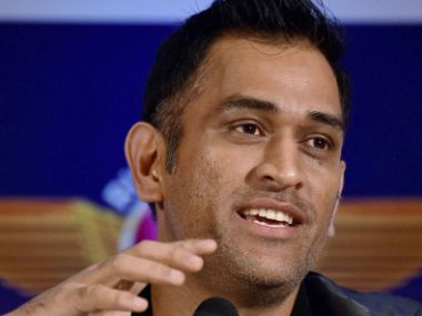 File picture of MS Dhoni. PTI