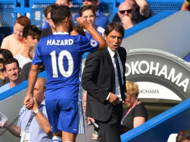Eden Hazard can still improve Antonio Conte feels there is more to come from Chelseas talisman