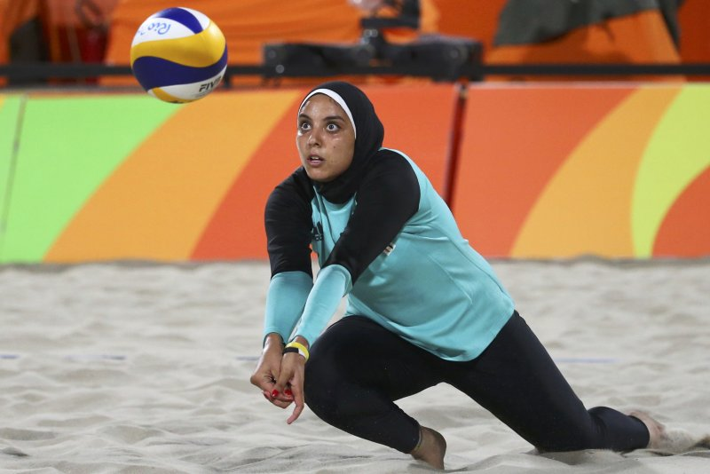 Rio Olympics 2016 Meet the Egyptian beach volleyball player who didnt let a hijab stop her