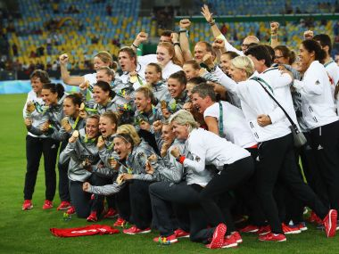 Rio Olympics 2016 Germany beat Sweden to win their first womens football gold