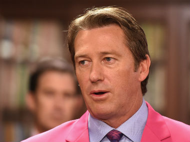 File photo of Glenn McGrath. Getty Images