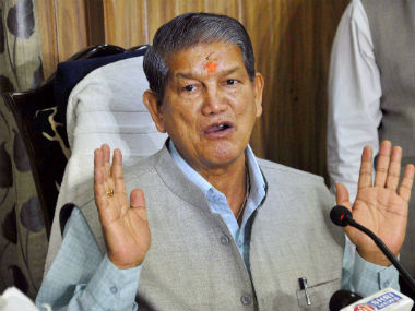 File photo of Himachal Pradesh Chief Minister Harish Rawat. PTI