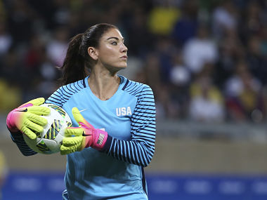 Hope Solo, former US football team goalkeeper, joins race for federation presidency
