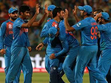 File photo of Indian Cricket team. Solaris Images