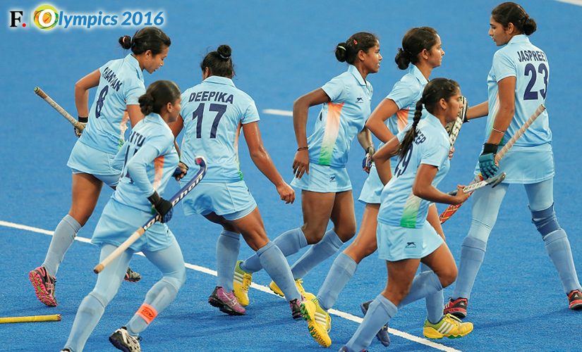 File photo of the Indian women's hockey team. Getty Images.