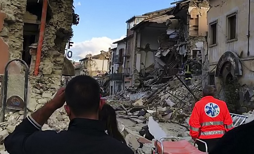 Death toll reaches 38 in Italy earthquake PM Matteo Renzi cancels France trip