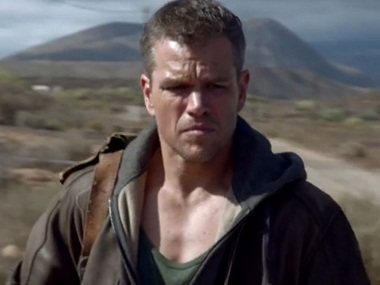 Matt Damon in and as 'Jason Bourne'