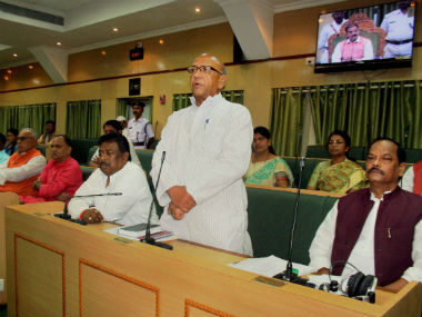 Special session of Jharkhand Assembly underway to pass the GST Bill. PTI