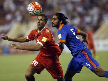 File photo of Sandesh Jhingan. AFP