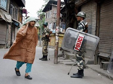 A file photo of Srinagar. PTI