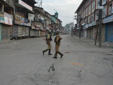 Kashmir unrest Curfew lifted from parts of Srinagar even as normal life remains affected