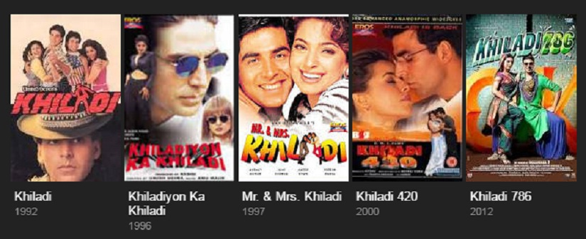 From the 'Khiladi' films that were once his forte, Akshay Kumar has moved onto the patriotic ouevre