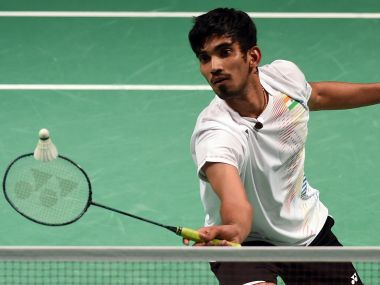 Kidam Srikanth dished out some top badminton to advance to the pre-quarters. AFP