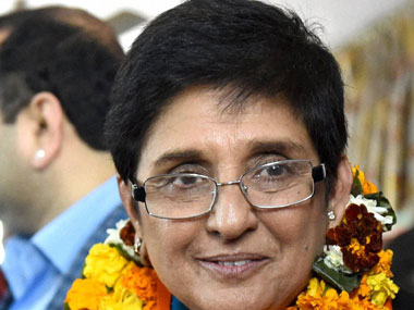 Kiran Bedi stresses the need to focus on law and order in Puducherry
