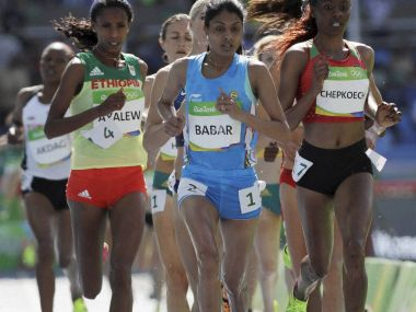 Rio 2016 Olympics Indias Lalita Babar qualifies for womens 3000m steeplechase final