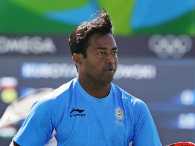 File photo of Leander Paes. AP