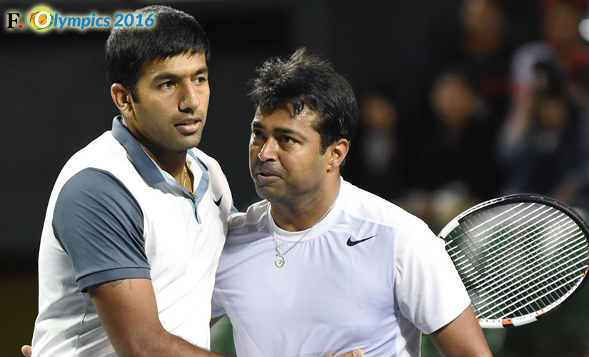 File photo of Leander Paes and Rohan Bopanna. Image credit: Getty Images.
