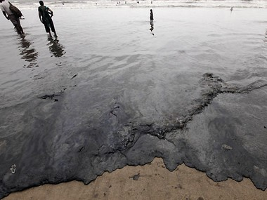 NGT orders shipping co to pay Rs 100 cr for oil spill off Mumbai coast
