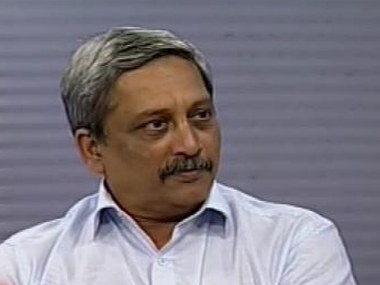 File image of Defence Minister Manohar Parrikar. News18