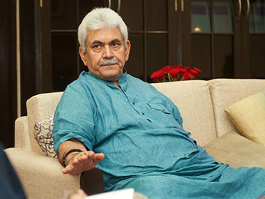Union Telecommunications Minister Manoj Sinha. Naresh  Sharma/Firstpost