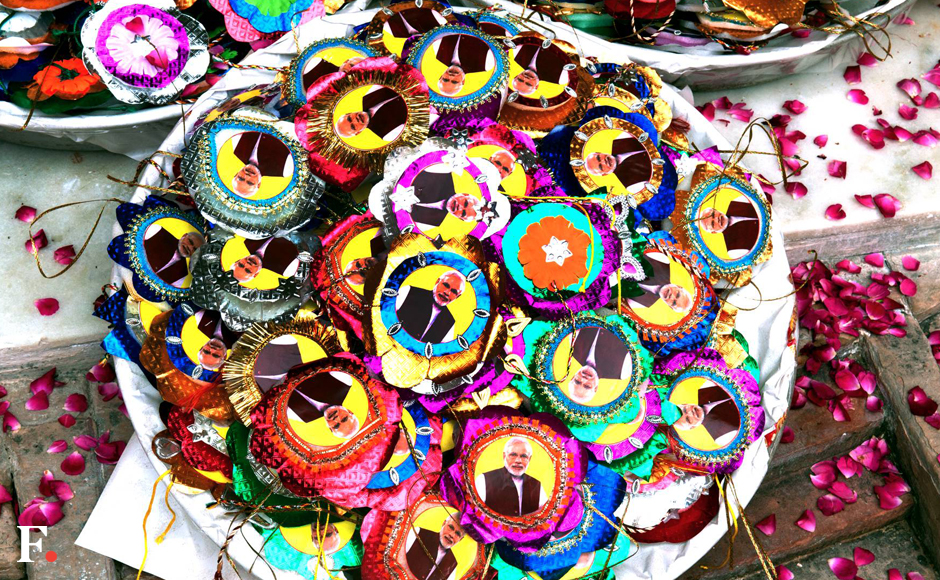 A collection of 2,000 colourful Rakhis and sweets will also be sent to Prime Minister Narendra Modi by the widows who have expressed a strong desire to meet him and urge him to ensure their all-round welfare. (Naresh Sharma/Firstpost)