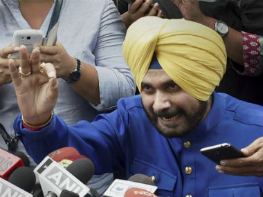 BJP takes a dig at Navjot Singh Sidhu, says party is bigger than any personality