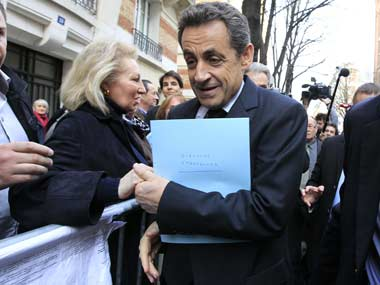 Nicolas Sarkozy seeks French presidency Corruption legal scandals marked his last tenure
