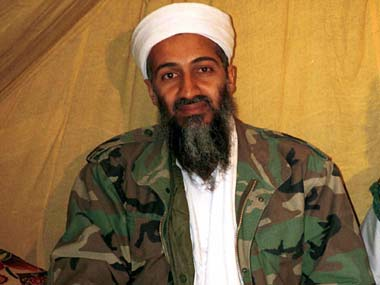 File photo of Al-Qaeda leader Osama bin Laden.