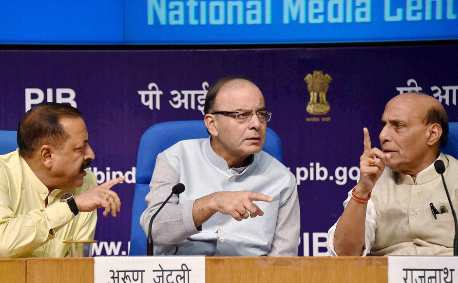 The government talked tough on the Pakistani interference in Indian administered Kashmir by needling the neighbouring state on the Balochistan issue. However, Jaitley clarified to the press that the Prime Minister's comment came only in the backdrop of Pakistan's repeated attempts to interference in our internal matters and did not reflect on the Indian policy on Pakistan. PTI