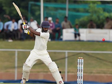 Abhinav Mukund scored a match setting 169 in the third innings for India Red. PTI