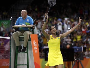 File photo of PV Sindhu. AFP