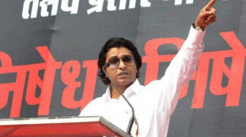 Raj Thackeray's MNS was founded on the 'sons of soil' agenda. Image from PTI