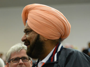 File photo of NRAI chief Raninder Singh. Getty Images