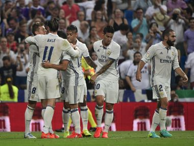 Real Madrid maintained their perfect start to La Liga thanks to a late Toni Kroos winner. AFP