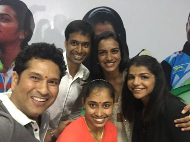 Sachin Tendulkar lauds PV Sindhu, Sakshi Malik, Dipa Karmakar, expects bright future for