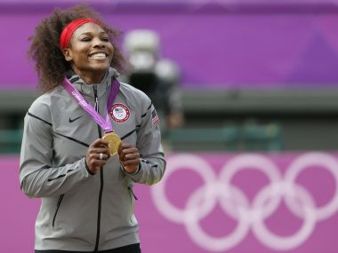 London 2012 gold medallist Serena Williams. Reuters