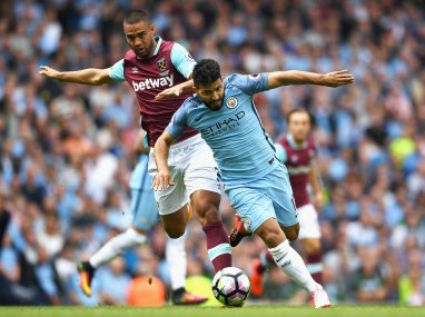 Sergio Aguero charged with violent conduct; will miss Manchester derby if found guilty