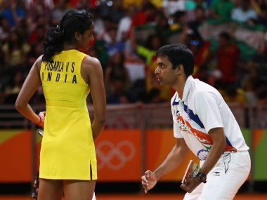 Gopichand proud of PV Sindhus Rio Olympics preformance savours Indias success in badminton