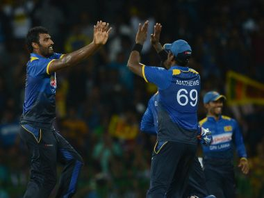 Angelo Mathews produced a fantastic all-round performance as Sri Lanka beat Australia in the 2nd ODi to level the series. AFP