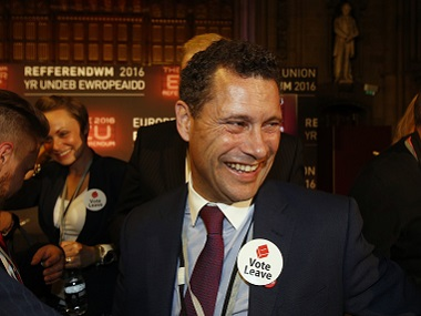 Steven Woolfe of the United Kingdom Independence Party (UKIP). Reuters