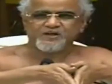 Jain monk Tarun Sagar. File photo. Firstpost