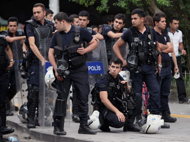 File image of Turkey police. AP
