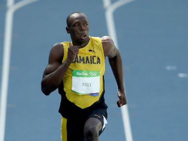 Usain Bolt. GettyImages